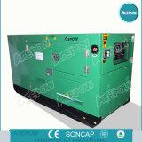 тепловозное звукоизоляционное генератора 50kw приведенное в действие 4105zds