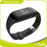 方法適性のSmartphoneの人間の特徴をもつスマートなブレスレットとの連続した中心モニタの軽量のBluetooth同期信号