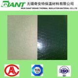Revêtement ignifuge de Papier d'emballage de canevas de PVC de noir