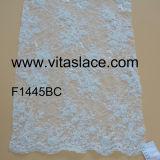 Tessuto francese Corded & bordato Vc-02013bc di bianco del merletto