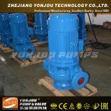 El tubo horizontal o vertical de la bomba de líquido centrífuga