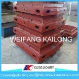 Cadres de sable de haute sécurité, produit malléable de cadre de moulage de sable de fer de fonte grise