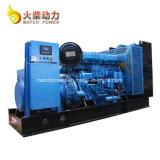 Gruppo elettrogeno diesel a terra insonorizzato 400kw con il motore di Weichai 170