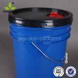 熱い販売の5ガロン水容器20Lのプラスチックバケツ低価格の5ガロンのバケツ型