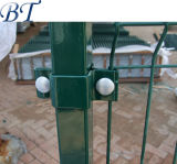 PVC에 의하여 입히는 용접 금속 철망사 담
