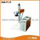 China marcadora láser de fibra de mejor calidad/marcadora láser China