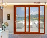 Erstklassiges Niedriges-e Doppelverglasung-schiebendes Aluminiumfenster