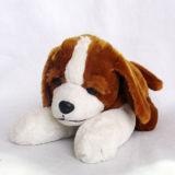 プラシ天のアニメーションの柔らかい犬