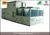 Inversor embalados no piso superior da unidade de ar condicionado