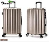 4つの車輪が付いている流行のトロリー荷物のパソコンの荷物袋のトロリー荷物