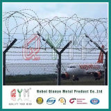 Zaun-Gefängnis-Ineinander greifen-Zaun-Flughafen-Sicherheitszaun der Sicherheits-358