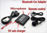 車のステレオのBluetoothのアダプター(電話の/MP3ハンズフリーのplay/USBの料金)