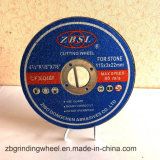 Schneidenund reibende Platte für Stein -115X3X22.2