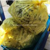 Verde de la máquina de trituración de residuos médicos
