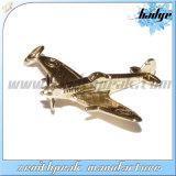도매 금속 3D 모형 비행기 항공기 접어젖힌 옷깃 Pin