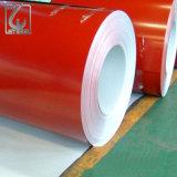 CGCC RAL5020 PPGI bobine d'acier galvanisé prélaqué bobine pour le matériau de couverture