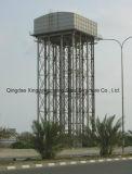 Башня цистерны с водой стальной структуры