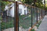 Engranzamento de aço que cerc, folhas soldadas do engranzamento de fio para os painéis da cerca