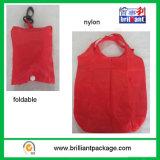 Riciclare il commercio all'ingrosso piegante di nylon del sacchetto di acquisto della drogheria