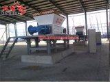 Doppie trinciatrici industriali durevoli della plastica della trinciatrice dell'asta cilindrica