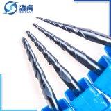HRC65 de alta precisión de corte de carburo sólido herramienta utilizada en la molienda industrial