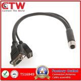 M12 к монтажной схеме USB&Dsub