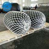 Berufsmarinegummischutzvorrichtungen mit Ketten-und Gummireifen-Netz