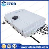 IP65 1*4 1*8 1*16 PLC Splitter Caixa de Distribuição de Fibra Óptica