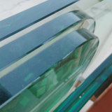 Ultra large 19mm Low-Iron clair Verre trempé