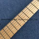 マホガニーボディ(GB-19)を通した6つのストリングベースギターの首