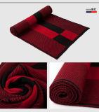人の標準的な冬の暖かい羊毛アクリルの編まれたスカーフ(YKY4611)