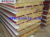 RoofおよびWallのための耐火性Rock Wool Sandwich Panel