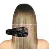 Visor LCD de produtos de beleza pente alisador de cabelo de Vapor Eléctrico da escova rotativa