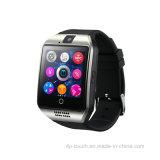 タッチ画面のNFC機能のスマートなBluetoothの腕時計Q18