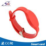Bracelet réglable de silicones de tag RFID de 13.56 mégahertz