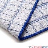 Ткань из микроволокна клетчатого кухня блюдо полотенце