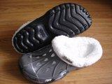 Chaussures Sabots d'hiver de l'intérieur de la Fourrure Chaussons