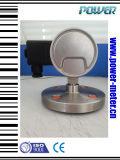 Tout le type de bas d'air de membrane d'acier inoxydable indicateur de pression électrique de contact à vendre avec le cadran et la flèche indicatrice