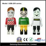 Azionamento di plastica su ordinazione dell'istantaneo del USB di figura dell'uomo (USB-205)