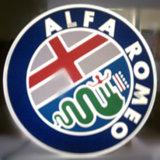 Logo de galvanoplastie extérieur de véhicule de chrome d'ABS de salle d'exposition de véhicule