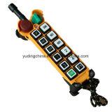 Controllo senza fili industriale universale dell'argano di telecomando di marca di Telecontrol per telecomando per la pompa per calcestruzzo, attrezzatura di movimentazione di vetro