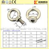Tornillos de ojo ovales de elevación del ancla de DIN580 M12 con la certificación