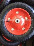 3.00-8 최신 판매 내부 관을%s 가진 최상 고무 외바퀴 손수레 타이어