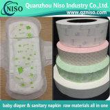 Papel de liberação revestido de silicone para almofada sanitária