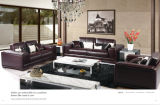 Ledernes Sofa Furniture Modern Sofa mit Genuine Leather Sofa
