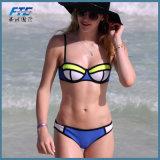 Swimsuit Бикини износа пляжа женщин возмужалый
