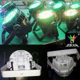La etapa de DMX LED PAR 54 al aire libre 3W RGBW luz al aire libre