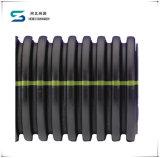 Труба стоков сборника трубы дренажа двойной стены HDPE Corrugated в Dn200-800mm