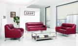 Guangdong-stellte ledernes Büro-Sofa 2016 ein (DX536)
