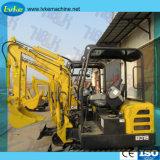 miniexcavadora Hblk Mini excavadora de cadenas de 1800kg.
